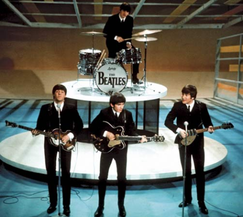 Beatles on Ed Sullivan